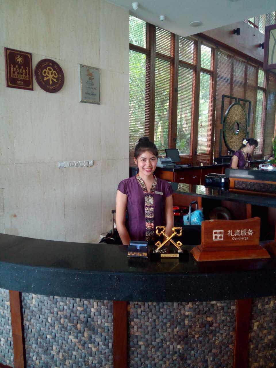 Internship Sanya experience from Thai participant Unchalee  Srichomphu